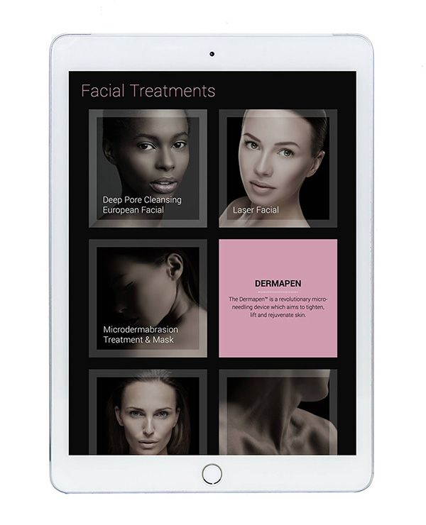 salon spa responsive website