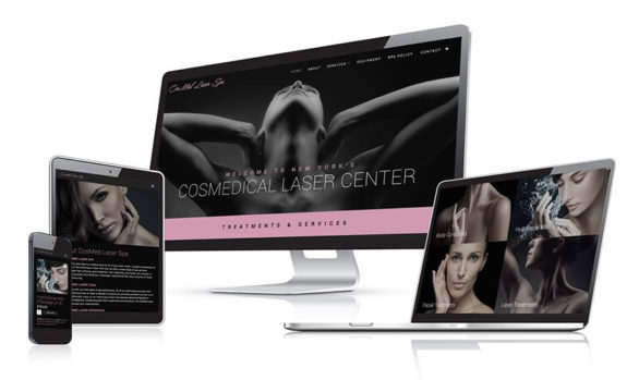 spa website design