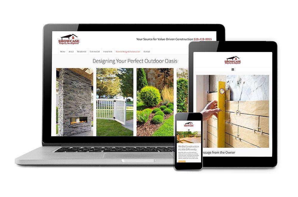 construction development web design
